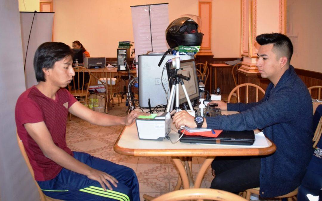 El Sereci Cochabamba amplía el horario de atención en tres centros fijos de empadronamiento masivo